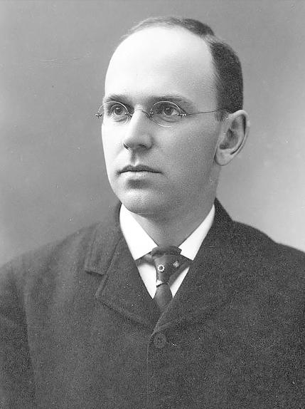 Black and White photo of Elliot Joslin in 1899