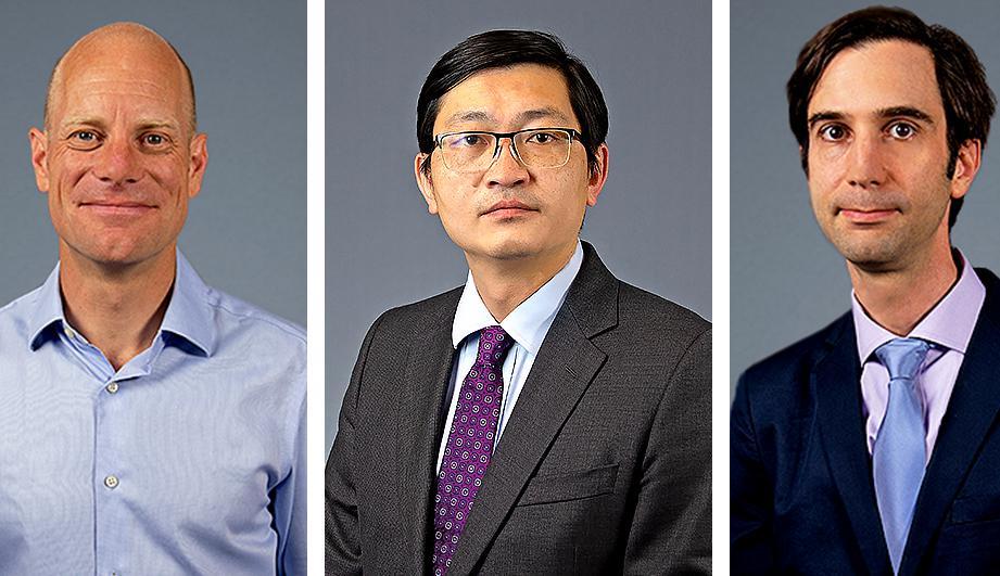 Stephan Kissler, Jason Gaglia and Peng Yi