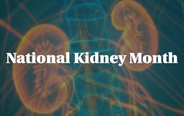 National Kidney Month image