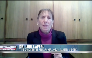 Dr. Lori Laffel on 7 News Boston