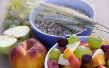 Fiber - Fruits and cereals