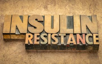 art image with the words insulin resistance