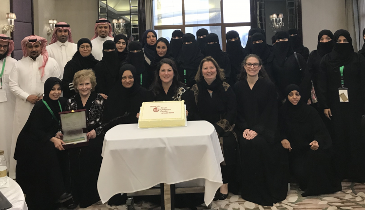 Joslin Education team partnered with the Ministry of Health, Saudi Arabia developing a diabetes education program tailored to this unique and rich culture
