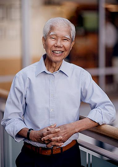 Benny Ho has been a Joslin patient in the AADI clinic for years.